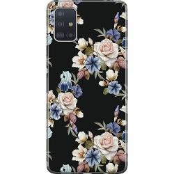 Samsung Galaxy A51 Mjukt skal - Floral