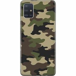 Samsung Galaxy A51 Mjukt skal - Militär