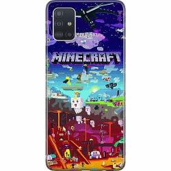 Samsung Galaxy A51 Mjukt skal - MineCraft