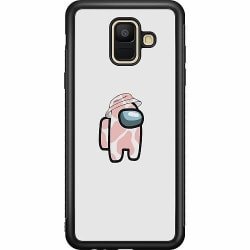 Samsung Galaxy A6 (2018) Soft Case (Svart) Among Us