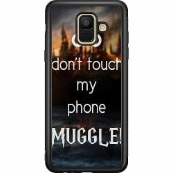 Samsung Galaxy A6 (2018) Soft Case (Svart) Harry Potter