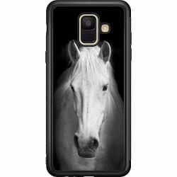 Samsung Galaxy A6 (2018) Soft Case (Svart) Häst