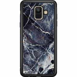 Samsung Galaxy A6 (2018) Soft Case (Svart) Marbled