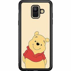 Samsung Galaxy A6 (2018) Soft Case (Svart) Nalle Puh