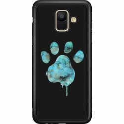 Samsung Galaxy A6 (2018) Soft Case (Svart) Paw
