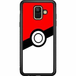 Samsung Galaxy A6 (2018) Soft Case (Svart) Pokemon