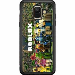 Samsung Galaxy A6 (2018) Soft Case (Svart) Roblox