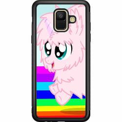 Samsung Galaxy A6 (2018) Soft Case (Svart) UNICORN
