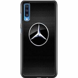 Samsung Galaxy A70 Hard Case (Svart) Mercedes
