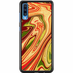 Samsung Galaxy A70 Hard Case (Svart) Poolywhirl