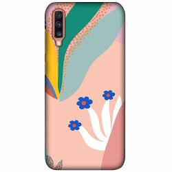 Samsung Galaxy A70 LUX Mobilskal (Matt) Surfs Up, Coral