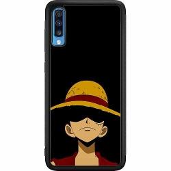 Samsung Galaxy A70 Soft Case (Svart) Anime