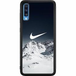 Samsung Galaxy A70 Soft Case (Svart) Nike