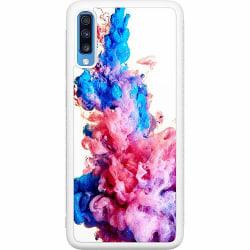 Samsung Galaxy A70 Soft Case (Vit) Colour Bomb
