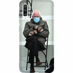 Samsung Galaxy A70 Thin Case Bernie Sanders Meme