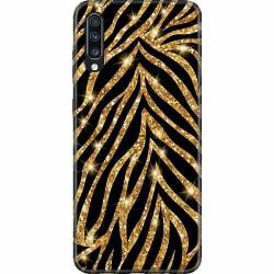 Samsung Galaxy A70 Thin Case Gold & Glitter