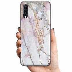 Samsung Galaxy A70 TPU Mobilskal Marmor