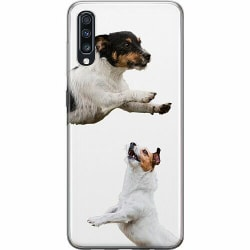 Samsung Galaxy A70 Thin Case Two Jacks on a Russell