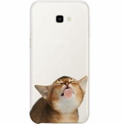 Samsung Galaxy J4 Plus (2018) Thin Case Cat Keeps You Clean