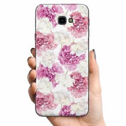 Samsung Galaxy J4 Plus (2018) TPU Mobilskal Fluffy Flowers
