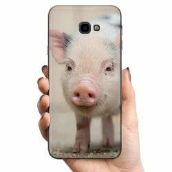 Samsung Galaxy J4 Plus (2018) TPU Mobilskal Happy Pig