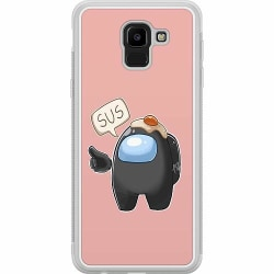 Samsung Galaxy J6 (2018) Soft Case (Frostad) Among Us