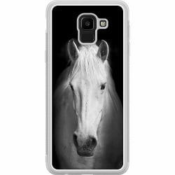 Samsung Galaxy J6 (2018) Soft Case (Frostad) Häst