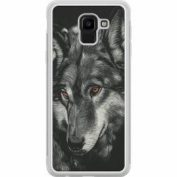 Samsung Galaxy J6 (2018) Soft Case (Frostad) Wolf / Varg