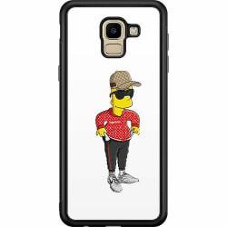 Samsung Galaxy J6 (2018) Soft Case (Svart) Bart Simpsons SUP