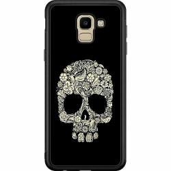 Samsung Galaxy J6 (2018) Soft Case (Svart) Döskalle