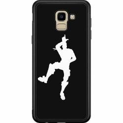 Samsung Galaxy J6 (2018) Soft Case (Svart) Fortnite Dance