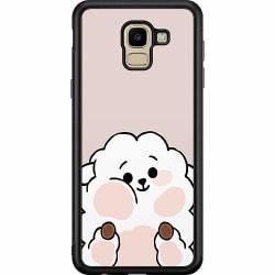 Samsung Galaxy J6 (2018) Soft Case (Svart) Kawaii
