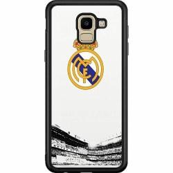 Samsung Galaxy J6 (2018) Soft Case (Svart) Real Madrid CF
