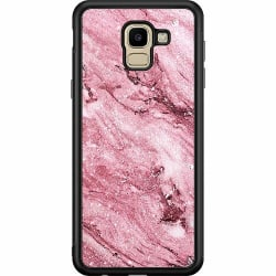Samsung Galaxy J6 (2018) Soft Case (Svart) Rosa