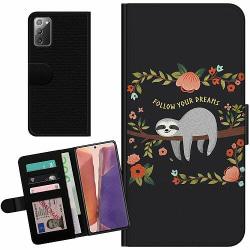 Samsung Galaxy Note 20 Billigt Fodral Sloth of wisdom