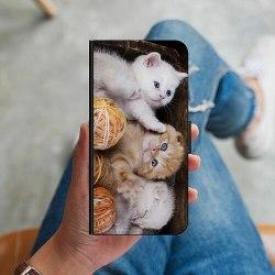 OnePlus 8 Plånboksskal Kittens and Yarn