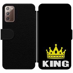 Samsung Galaxy Note 20 Wallet Slim Case King 01