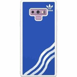Samsung Galaxy Note 9 Soft Case (Vit) Adidas