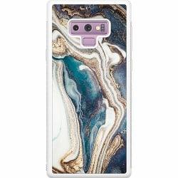 Samsung Galaxy Note 9 Soft Case (Vit) Mönster