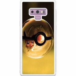 Samsung Galaxy Note 9 Soft Case (Vit) Pokemon