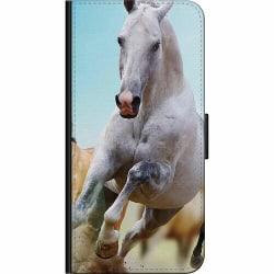 Huawei P Smart (2018) Fodralväska Häst / Horse