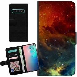Samsung Galaxy S10 Plus Billigt Fodral Pattern