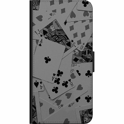 Samsung Galaxy A20s Fodralväska Dark Cards