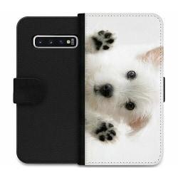 Samsung Galaxy S10 Plus Wallet Case Hund
