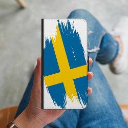 Samsung Galaxy S20 Ultra Plånboksskal Heja Sverige / Sweden
