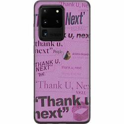 Samsung Galaxy S20 Ultra Mjukt skal - Ariana Grande