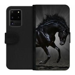 Samsung Galaxy S20 Ultra Wallet Case Häst / Horse