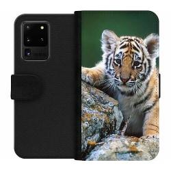 Samsung Galaxy S20 Ultra Wallet Case Tiger