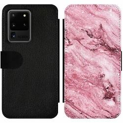 Samsung Galaxy S20 Ultra Wallet Slim Case Glitter Marble