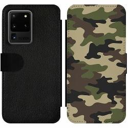 Samsung Galaxy S20 Ultra Wallet Slim Case Woodland Camo